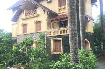 Bán 4000m2 có biệt thự 3 tầng tại Lương Sơn, Hòa Bình