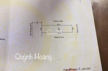 Bán lô đất 100m2 siêu đẹp gần chung cư Quỳnh Hoàng, Nam Sơn .