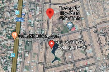 Bán lô KĐT Số 3 - Đối diện Hồ Sinh Thái