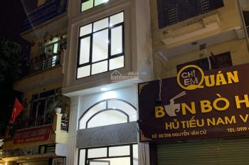 Cho thuê cả nhà mặt phố Hồng Tiến, 70m2x4 tầng mới xây
