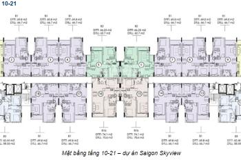 Tôi chính chủ cần bán căn hộ 2PN dự án Sài Gòn Skyview quận 8