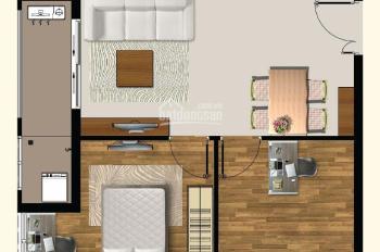 Cho thuê gấp căn hộ 3PN, nhà trống, giá 14 tr/tháng