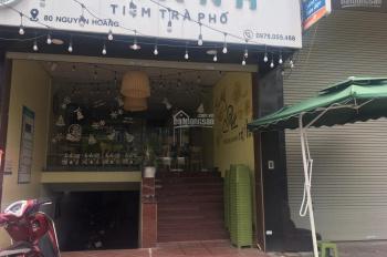Cho thuê MBKD với làm văn phòng phố Nguyễn Hoàng, Mỹ Đình, DT 30m2, giá 16tr/th LH: 0981536492