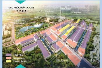 Thanh toán 290tr sở hữu, đất nền, Lic City, Tx Phú Mỹ, 100% thổ cư, 5x20m, ck 3%: 0933369837