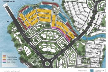 Rổ hàng chuyển nhượng Aqua City Novaland, tháng 8.2020, biêt thự đơn lập view sông giá 11.6 tỉ
