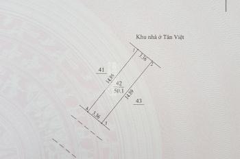 Bán gấp 50m2 đất dịch vụ Cựu Quán, ngay khu đô thị Tân Việt, LH 098 468 5678