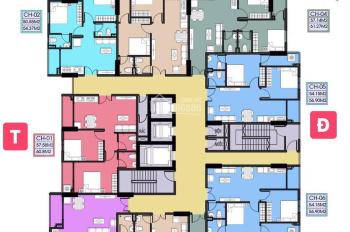 Chính chủ cần bán ra căn hộ Tecco Bình Dương view hướng Đông vị trí đẹp diện tích 55m2