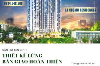 Căn hộ thiết kế lửng, bàn giao hoàn thiện, sở hữu lâu dài ngay Hoàng Văn Thụ - Út Tịch, 39 triệu/m2