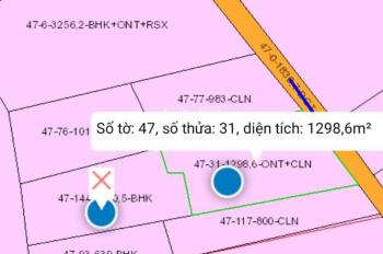 Bán 2 lô đất sào liền kề diện tích 2400m2 thổ cư mặt trước sân bay quốc tế Long Thành 0943559175