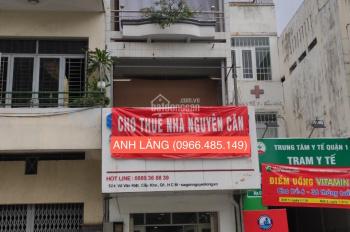 Chính chủ cho thuê nhà 524 Võ Văn Kiệt, 56m2 * 3 tầng, 25tr/th