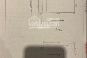 Bán nhà mặt tiền hẻm nhựa 8m số 68 Út Tịch - Hoàng Việt P4, Q. Tân Bình