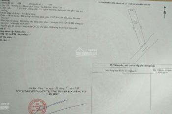 Bán đất mặt tiền đường Võ Văn Kiệt - P. 12 - TP. Vũng Tàu