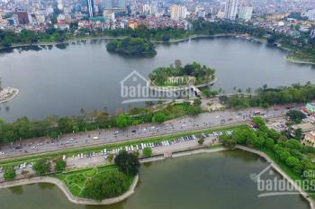 Chính chủ cần bán gấp căn nhà 3 tầng cực đẹp (140 m2 - 6,2 m) mặt hồ Bảy Mẫu, Đống Đa, HN