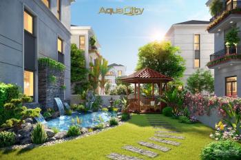 Nhà phố, biệt thự ven sông KĐT Aqua City, chỉ thanh toán 30% đến khi nhận nhà, LH: 0902977207