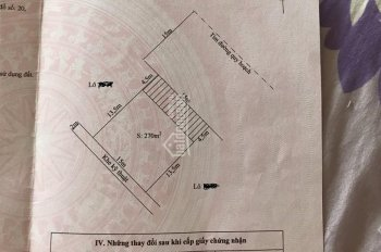 Chuyển nhượng gấp lô đất 270m2 xây biệt thự tại lô 17 Lê Hồng Phong