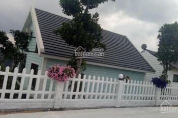 Bán căn BT nghỉ dưỡng Sun Village, Lương Sơn, HB 316m2, 2PN, full nội thất, SĐ, view hồ, giá rẻ