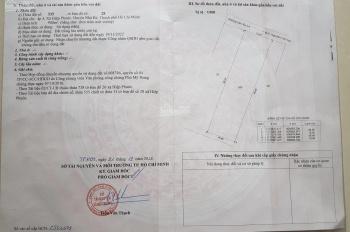 Chính chủ bán 900m2 đất Nhà Bè, xã Hiệp Phước - 4 tỷ 380 triệu - có hoa hồng môi giới