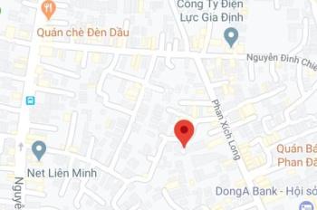 Bán đất HXH Phan Xích Long - nở hậu - 73.4m2