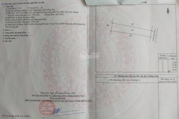 Chính chủ bán 2 sào đất đường hiện hữu, DT 1000m2, giá 720 triệu, QL1A vô 1.5km, sổ sẵn, LH Vân