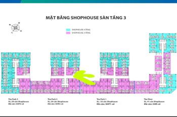 Suất ngoại giao Shophouse Eurowindow River Park, giá chỉ 27.5 triệu/m2 tại Đông Anh, Hà Nội