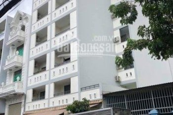 Bán căn hộ dịch vụ (14m x 25m) 1 lửng 4 lầu + sân thượng, có 54 phòng