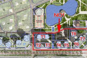 Cho thuê chung cư N01T5 NGoại Giao Đoàn Hà Nội - diện tích 122m2 view hồ điều hòa công viên
