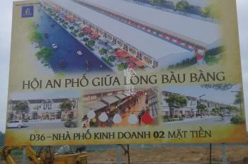 Bán nhà phố Bàu Bàng thiết kế theo Hội An xưa mang Hội An vào trong lòng Bàu Bàng