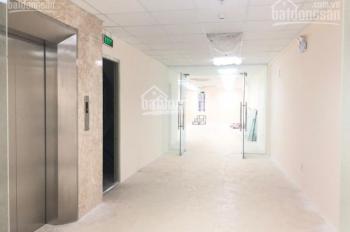 Cho thuê nhà mặt phố Thái Phiên đối diện Vincom 180m2 x 5 tầng, MT 8m, nhà thông sàn, thang máy