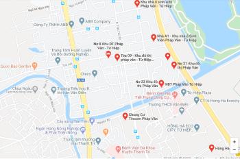 Bán căn 3 ngủ, 81m2, tòa NƠ 8, KĐT Pháp Vân Hoàng Mai, Hà Nội, 1.25 tỷ
