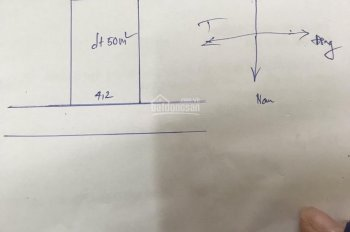Bán lô đất đẹp tại Tu Hoàng Phương Canh DT 50m2 ngõ thông rộng 2,5m