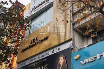 Bán nhà toà nhà 6 tầng thang máy mặt phố Thái Thịnh DT 61m2, MT 3.8m, giá 21 tỷ, thuê 50tr/th