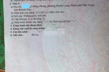 Bán nhà vỡ nợ mặt tiền Lê Hồng Phong, dt 113m2, 6 tỷ có lương lượng. LH: 0397166757