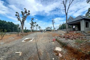 Bán khuôn viên hoàn thiện 4040m2 ở Lương Sơn HB, view thoáng mặt đường bê tông to tường bao đầy đủ