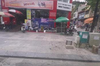Tôi cho thuê nhà phố Quang Trung Hà Đông dt 250m2*4T, mt 9m, giá 130 tr/th
