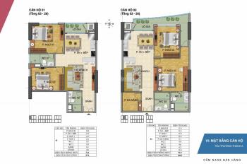 Cần bán gấp căn hộ 01 và 02 tòa CT2A tại Tràng An Complex. Giá 3.3 tỷ