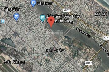 Bán 1400m2 đất MT sông Hàn đường Bạch Đằng, Đà Nẵng gần cầu Rồng, đã có GPXD. LH ngay