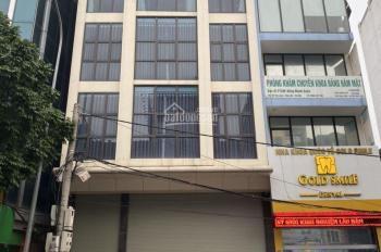 Cho thuê gấp nhà mặt phố Yên Lãng, Đống Đa, Hà Nội. DT 78m2 * 8 tầng, MT 8m, giá thoả thuận