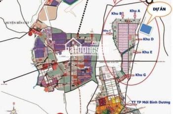 Đất nền giá rẻ chỉ 650 triệu/nền mặt tiền ĐT 742 ngay KCN Vsip 2 liền kề TT TP. Mới sổ riêng
