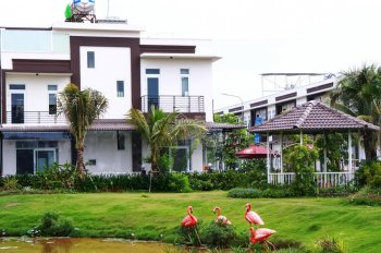 Còn duy nhất 2 căn biệt thự giá rẻ 8x15m view sông Vàm Cỏ - Bến Lức - Long An. Hotline: 0888666534