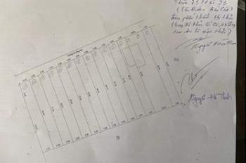 Bán 15 lô đất F0 5 x40 = 200m2 TC 60m2 giá đầu tư mặt tiền đường nhựa ngay trường tiểu hoc Tân Định