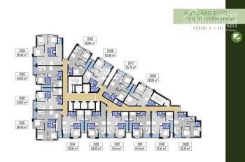 Chính chủ cần bán căn 3PN, DT 86m2 Green Field Bình Thạnh giá 3.65 tỷ. LH 0902.523.396 view Q1