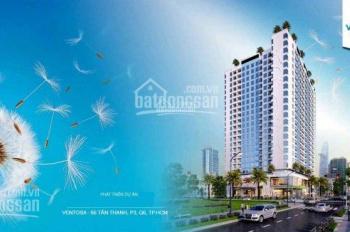 Căn hộ Ventosa Luxury 66 Tân Thành, Q5 mở bán đợt đầu tiên: 60 triệu/m2. PKD 0909.278753