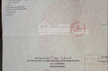 Bán lô đất mặt tiền Huỳnh Văn Lũy, Thủ Dầu Một (DT 108,5m2/1 tỷ) gần UBND P Phú Mỹ, 0937535374