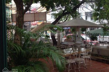 Cho thuê nhà mặt phố Nguyễn Huy Tự, xây dựng kiểu biệt thự sân vườn, DT 310m2, xây dựng 3 tầng