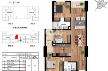 Bán gấp căn hộ chung cư Imperia Garden 203 Nguyễn Huy Tưởng 3PN dt 99,9m2 giá 3,4 tỷ full nội thất