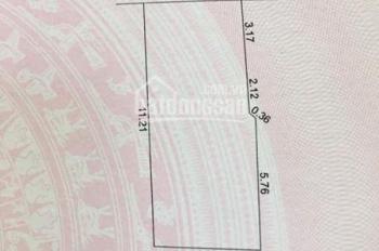 Bán đất chính chủ K408/49/68 Hoàng Diệu kiệt 2m nở hậu 1,75 tỷ TLCC