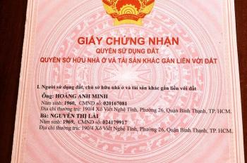 Cần bán nhà 92/152, 92/154 Xô Viết Nghệ Tĩnh, phường 21, quận Bình Thạnh, Tp HCM