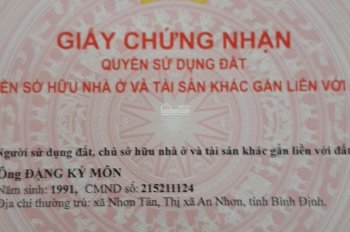 Nhà trệt kdt Thịnh Gia, Tân Định, Bến Cát, Bình Dương ,chính chủ 0903379002