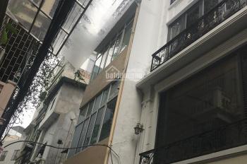 Bán nhà phố Vũ Thạnh - Hào Nam DT 50m2 xây 5T giá 4,85 tỷ. Nhà mới xây 2 mặt ngõ, MT 6,3m vuông vắn