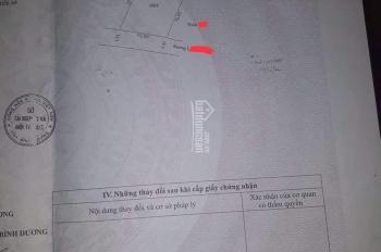 Cần bán đất Bàu Bàng, 276m2 thổ cư/1,1 tỷ. Liên hệ: 0902802892